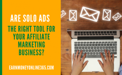 Solo ads and affiliate marketing