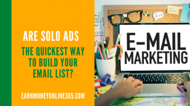 Build your email list fast with solo ads